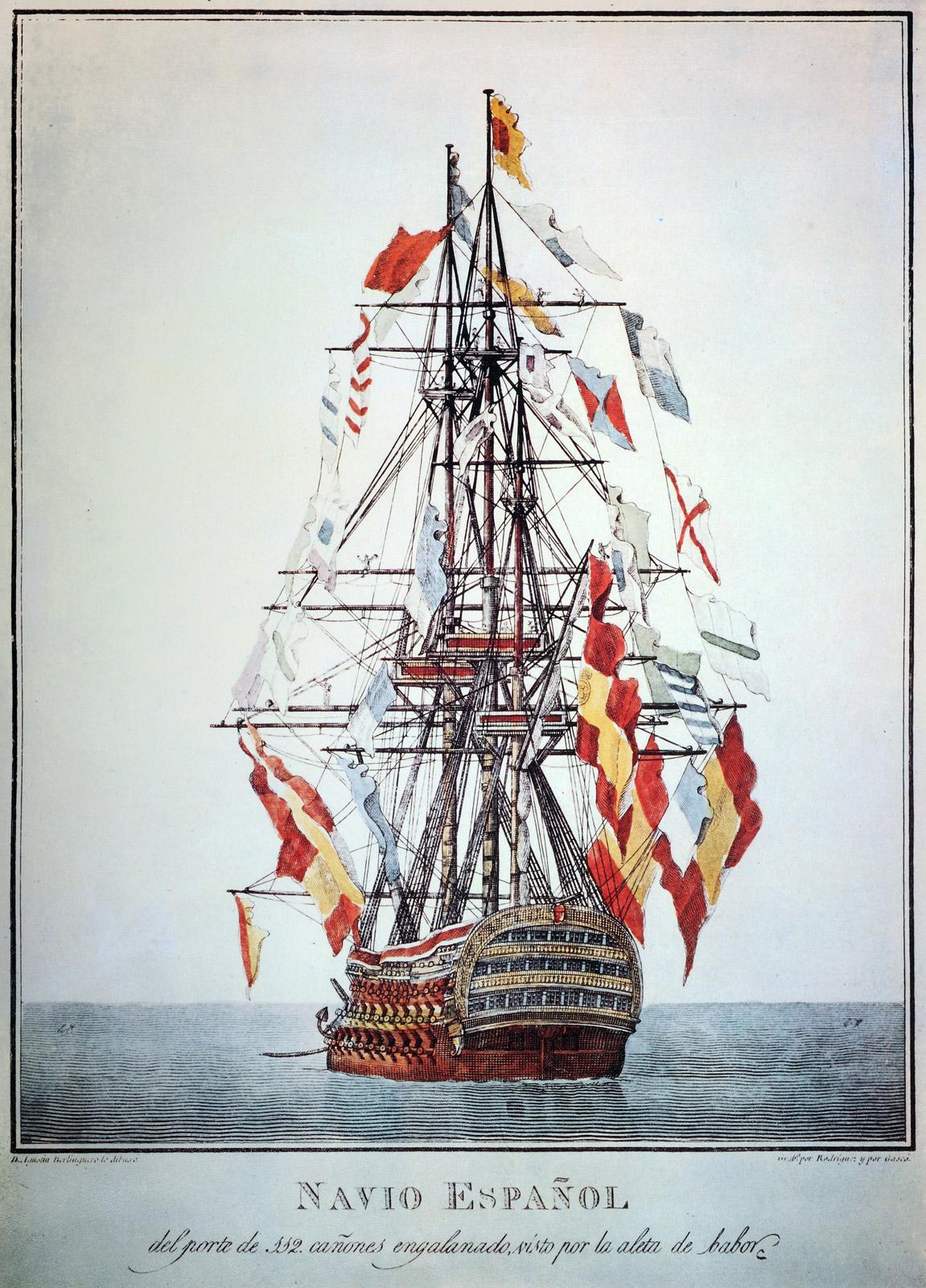 Navio español