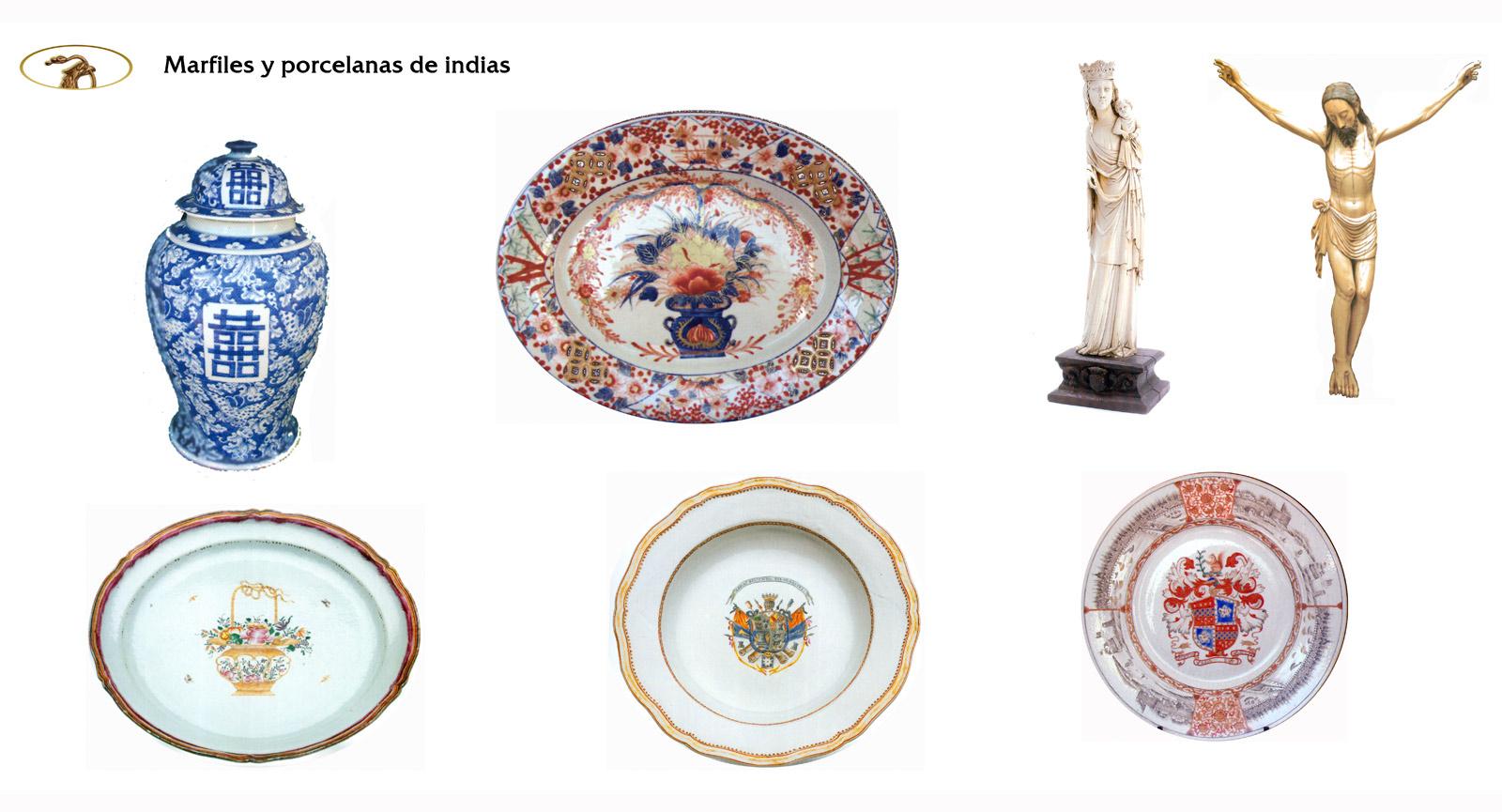 Marfiles y porcelanas de oriente